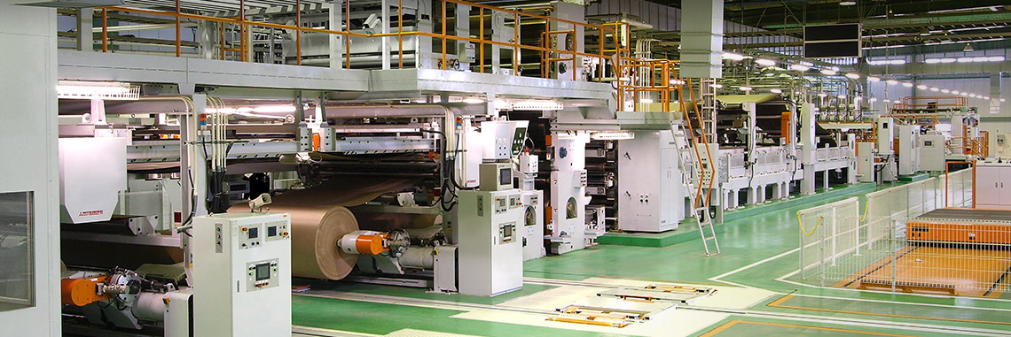 Corrugating Machinery Division, Mitsubishi Heavy Industries America, Inc. Corrugating Machines