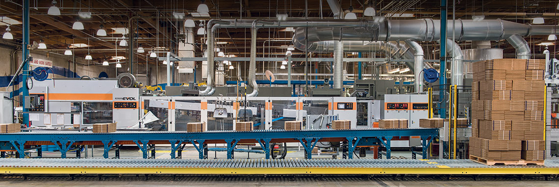 Corrugating Machinery Division, Mitsubishi Heavy Industries America, Inc. EVOL Box Making Machine